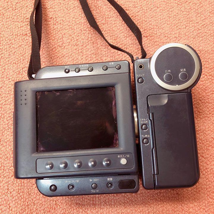 メルカリ - シャープ液晶付-8ミリビデオカメラ 『液晶ビューカム VL ...