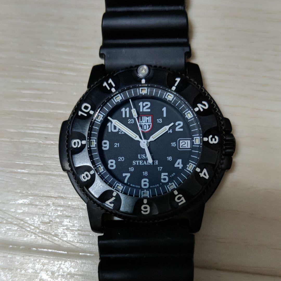66ddf6b6c7 メルカリ - ルミノックス Luminox F-117 ナイトホーク 3400 腕時計 ...