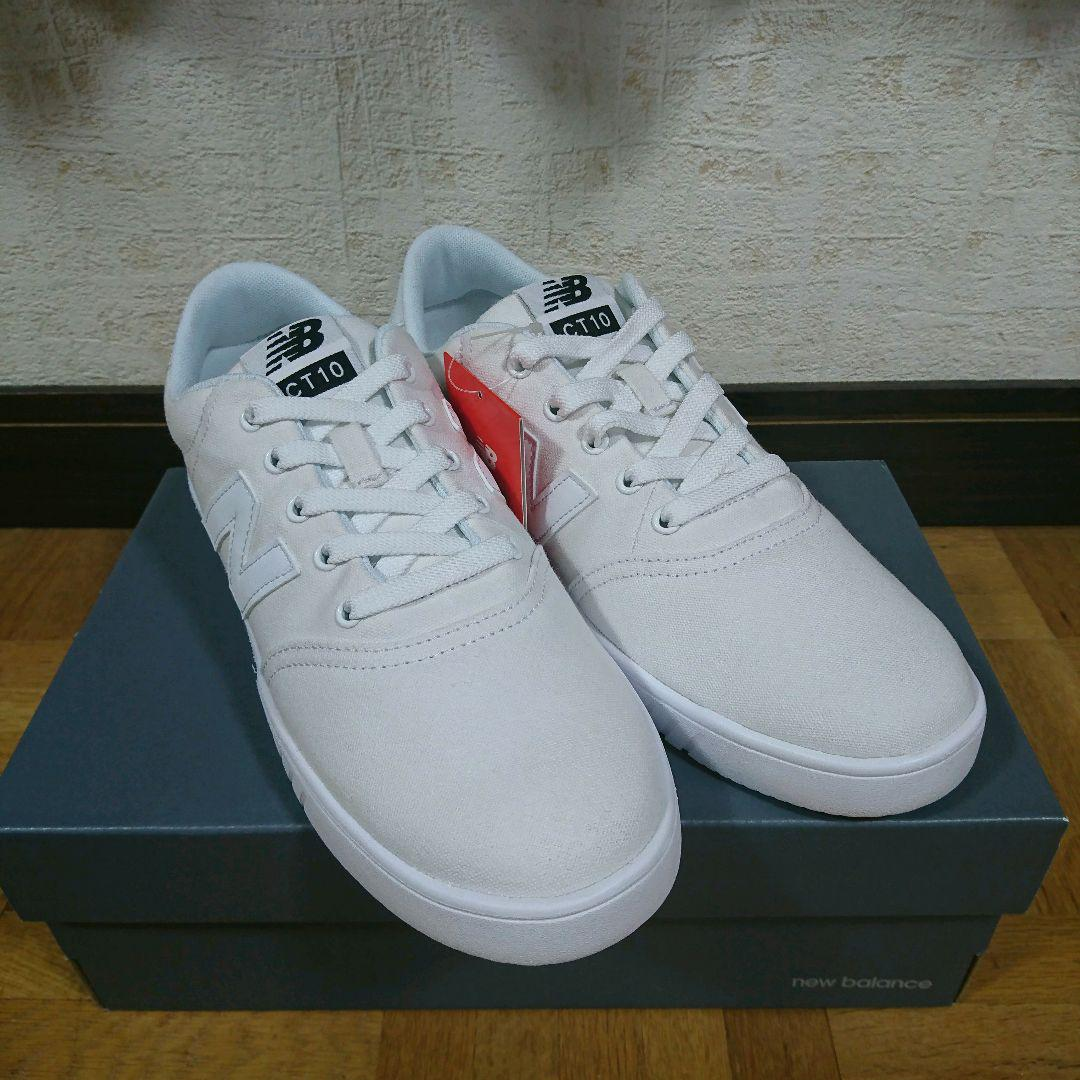 d1710f89a87a8 メルカリ - ニューバランス CT10 白スニーカー 27cm 新品 ...