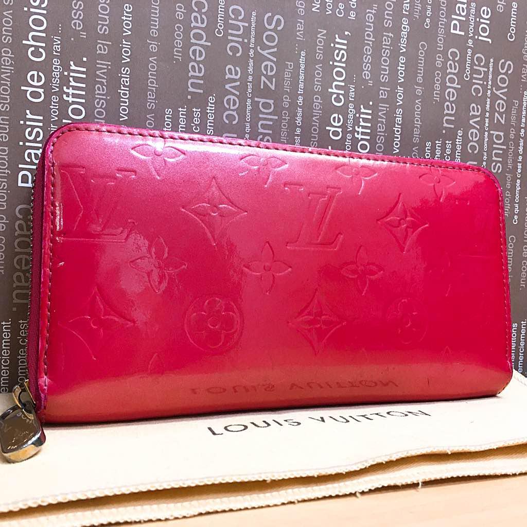 8da7cad5f461 メルカリ - 正規品 ルイ・ヴィトン 財布 ジッピーウォレット ピンク ...