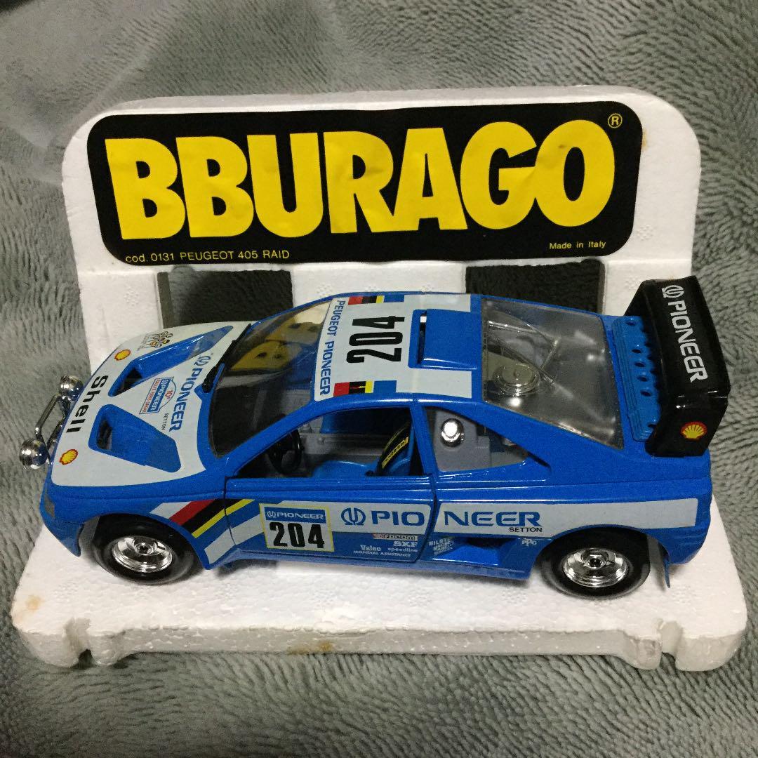 Peugeot 405 Raid-1//24 Burago Burago