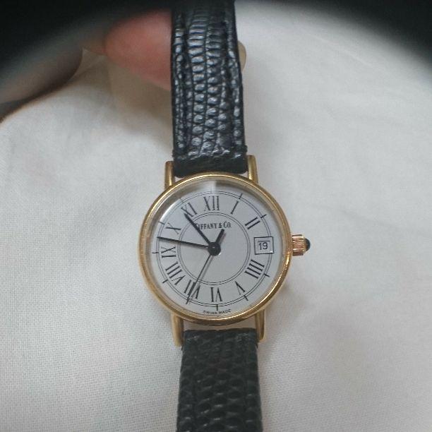timeless design 6d239 ce603 【貴重】ティファニー K18 腕時計(¥130,000) - メルカリ スマホでかんたん フリマアプリ