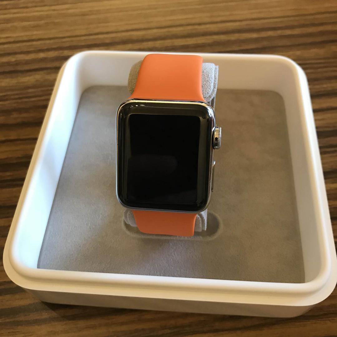 newest collection a6ada 94cf0 Apple Watch Series2 38mm エルメススポーツバンド(¥70,000) - メルカリ スマホでかんたん フリマアプリ