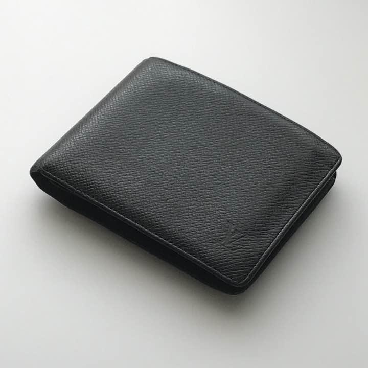new concept a4148 53742 ルイヴィトン メンズ 二つ折り財布(¥22,000) - メルカリ スマホでかんたん フリマアプリ