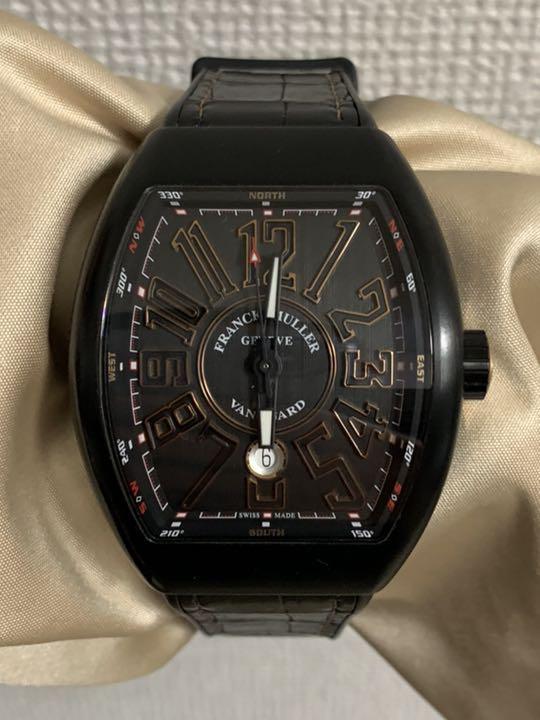 best service d390d 65eea フランクミュラー ヴァンガード 腕時計(¥450,000) - メルカリ スマホでかんたん フリマアプリ