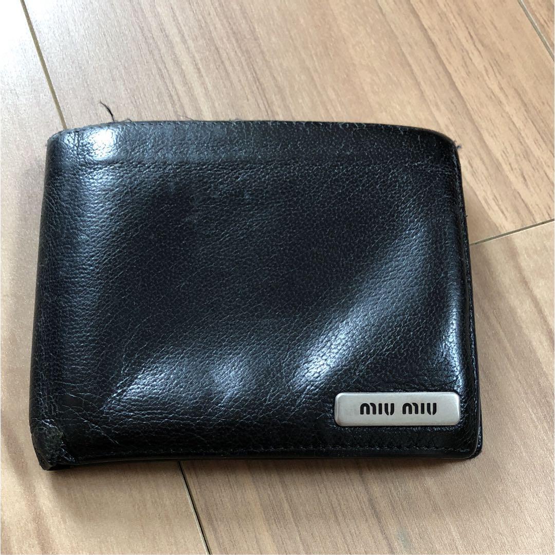 timeless design 57d14 90a31 ミュウミュウ メンズ 財布(¥1,500) - メルカリ スマホでかんたん フリマアプリ