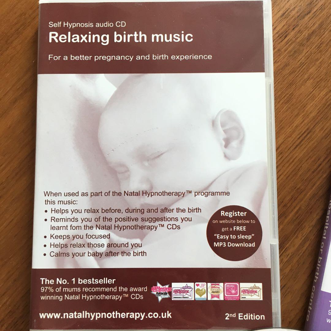 出産準備 陣痛中のリラックス音楽 Self Hypnosis audio CDs(¥ 430) - メルカリ スマホでかんたん フリマアプリ