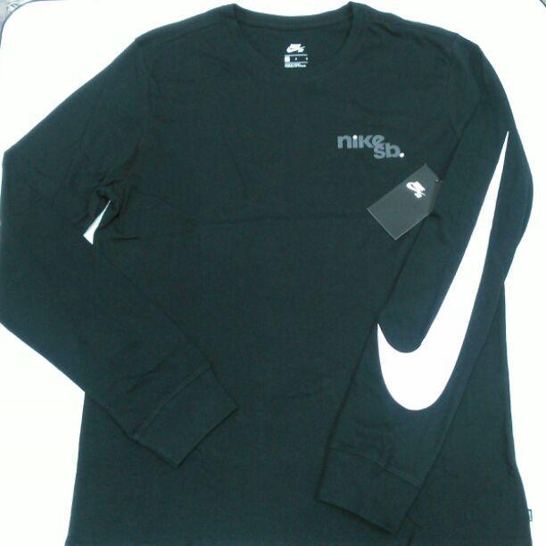 b0069305f0a メルカリ - M16 NIKE SB Lサイズ メンズ 長袖Tシャツ ロンテロゴ 新品 ...