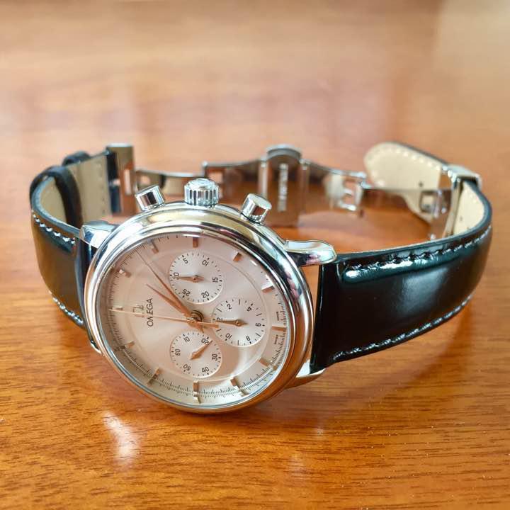 big sale 80b3c 3e958 ☆美品☆確実正規品 オメガ デビル プレステージ クロノグラフ メンズ 腕時計(¥125,000) - メルカリ スマホでかんたん フリマアプリ