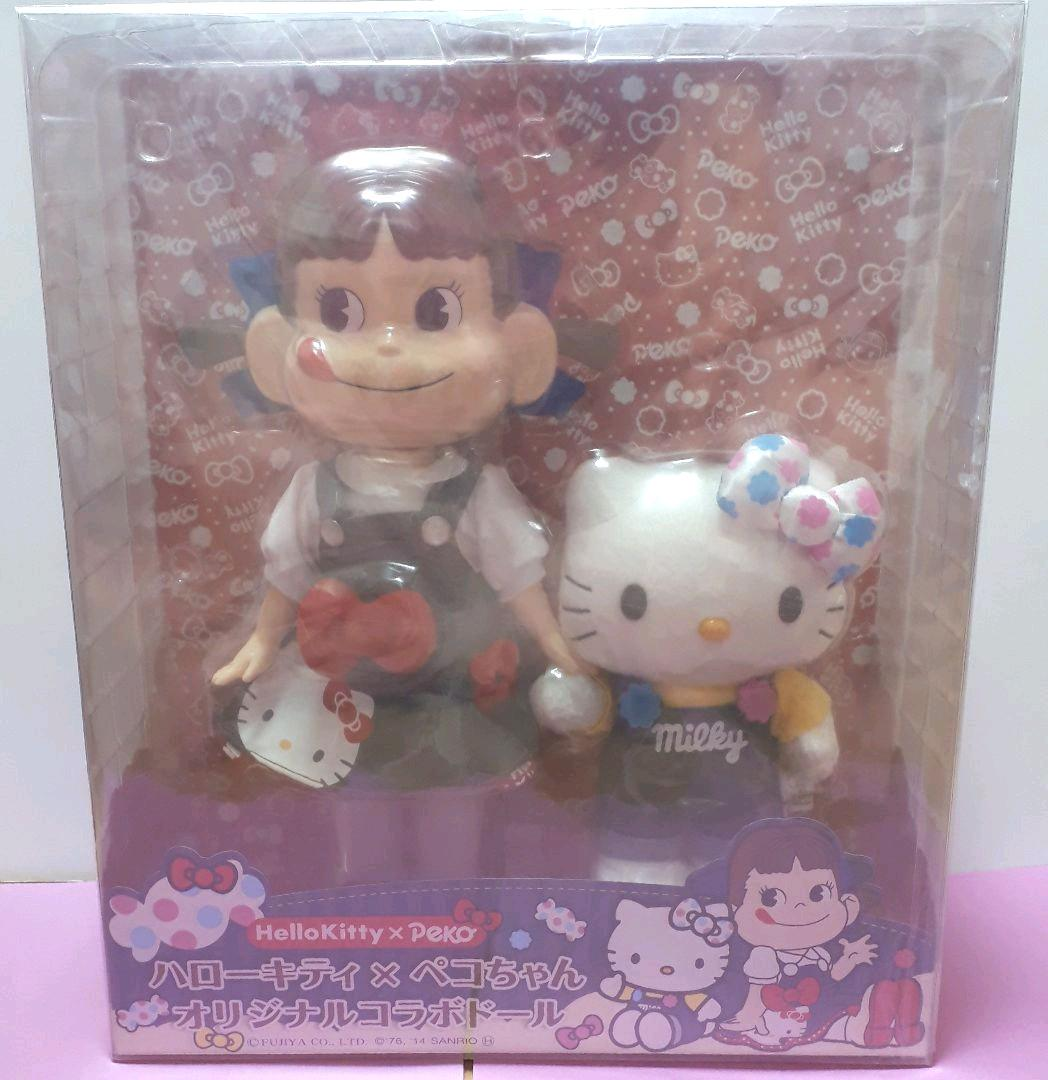 Hello Kitty Barbie Collaboration doll rare with box Sanrio Casual fashion FS