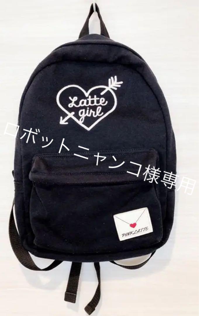 aa3ae302aa8dcf メルカリ - PINK-latte ピンクラテ リュック 【バッグ】 (¥2,000) 中古や ...