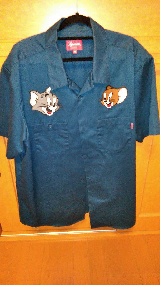 Supreme Tom And Jerry Work Shirts