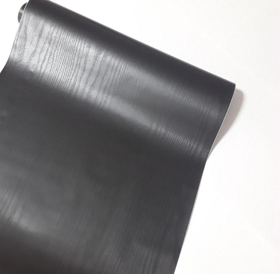 メルカリ 壁紙シール 木目調 黒 45cm 約10m 4本セット その他