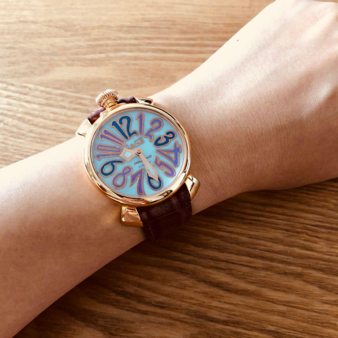 best service 32406 5561d ガガミラノ レディース腕時計★マヌアーレ40(¥21,111) - メルカリ スマホでかんたん フリマアプリ