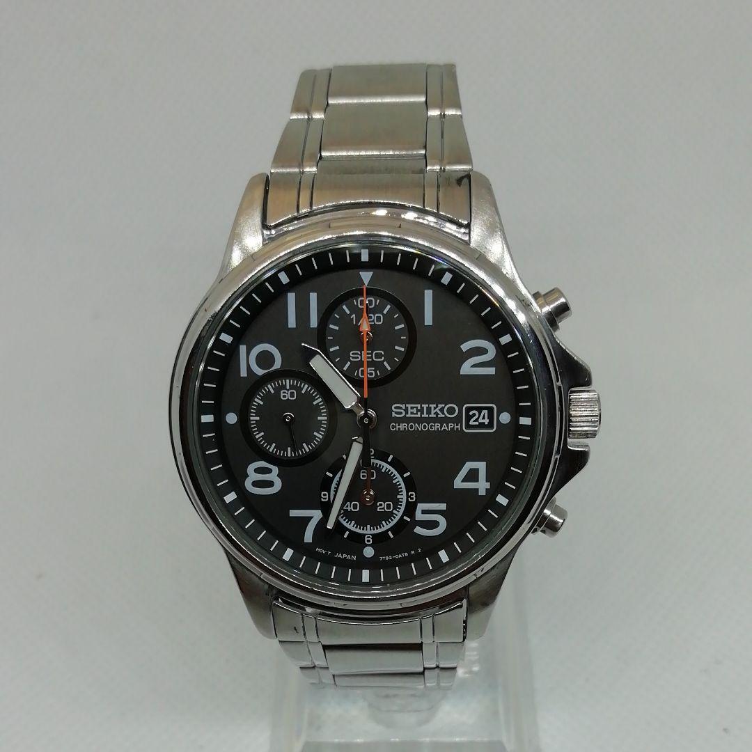 the best attitude 954bd c6181 SEIKO 腕時計 セイコー クロノグラフ(¥4,300) - メルカリ スマホでかんたん フリマアプリ