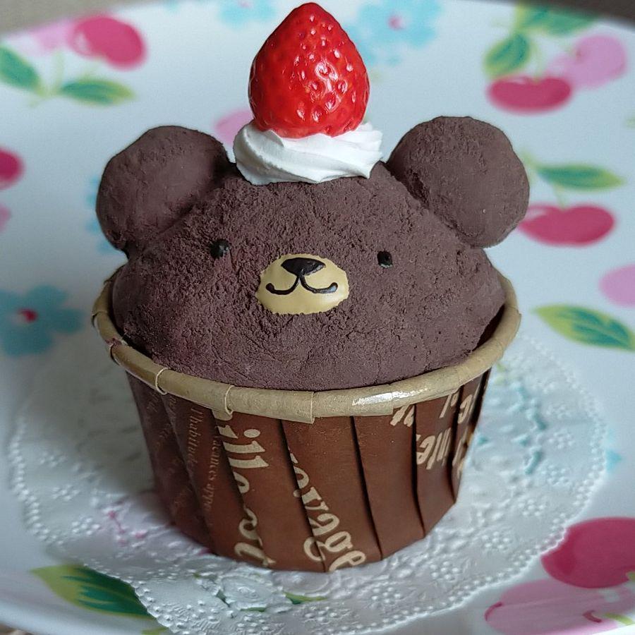カップ ケーキ の くま