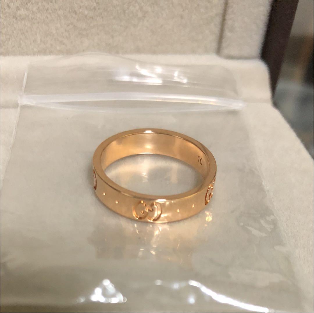 a47083f8130f メルカリ - GUCCI 指輪 レディース 10号 ピンクゴールド 新品未使用 ...
