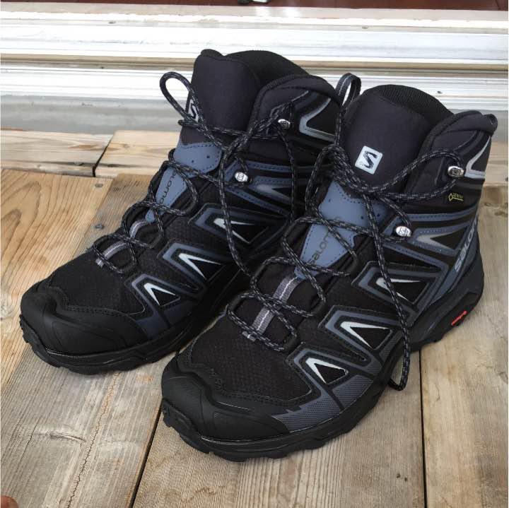 628398b2e68 サロモン SALOMON X ULTRA 3 WIDE MID GTX 登山靴(¥ 11,000) - メルカリ スマホでかんたん フリマアプリ