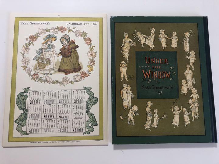 メルカリ - ケイト・グリーナウェイのカレンダー1884年 /窓の下で ...