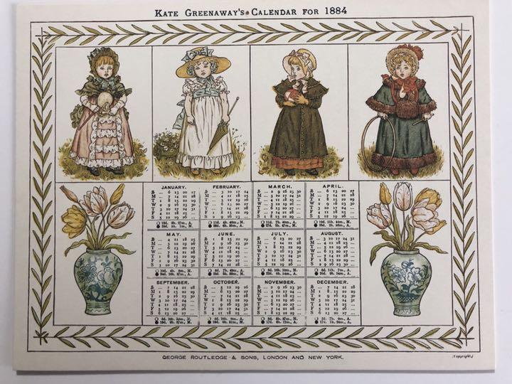 メルカリ - ケイト・グリーナウェイのカレンダー1884年 /窓の下で(洋書)計 ...