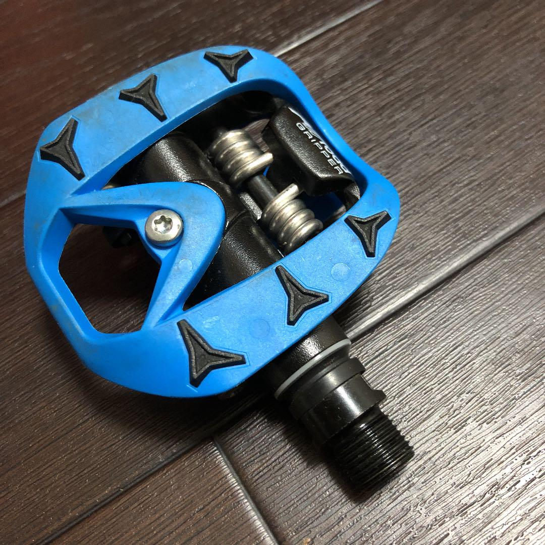 TIME ALL ROAD GRIPPER PEDALS blue