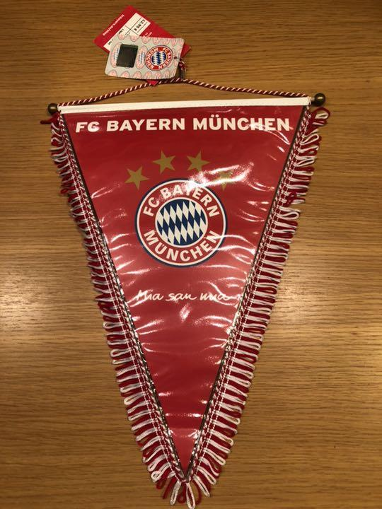 FC Bayern M/ünchen 15047 Ligawimpel rot