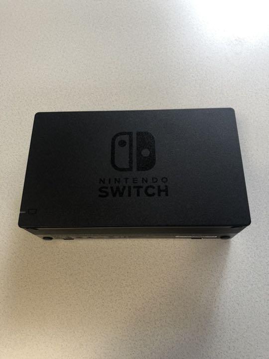 switch ドック 点滅