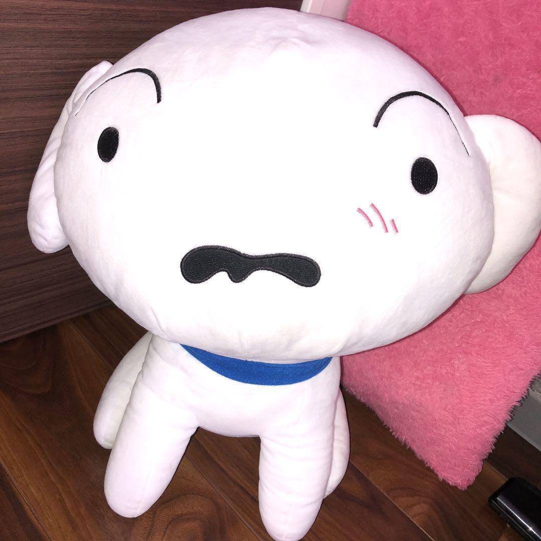 クレヨンしんちゃん シロ ぬいぐるみ 特大(¥1,500) , メルカリ スマホでかんたん フリマアプリ