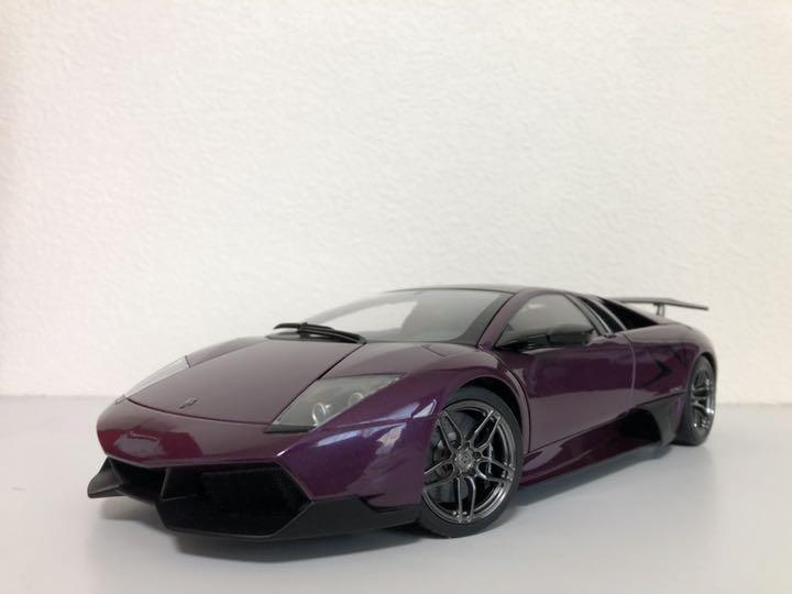 1 18 Auto Art Lamborghini Murcielago Sv Sv Sv a58ec4