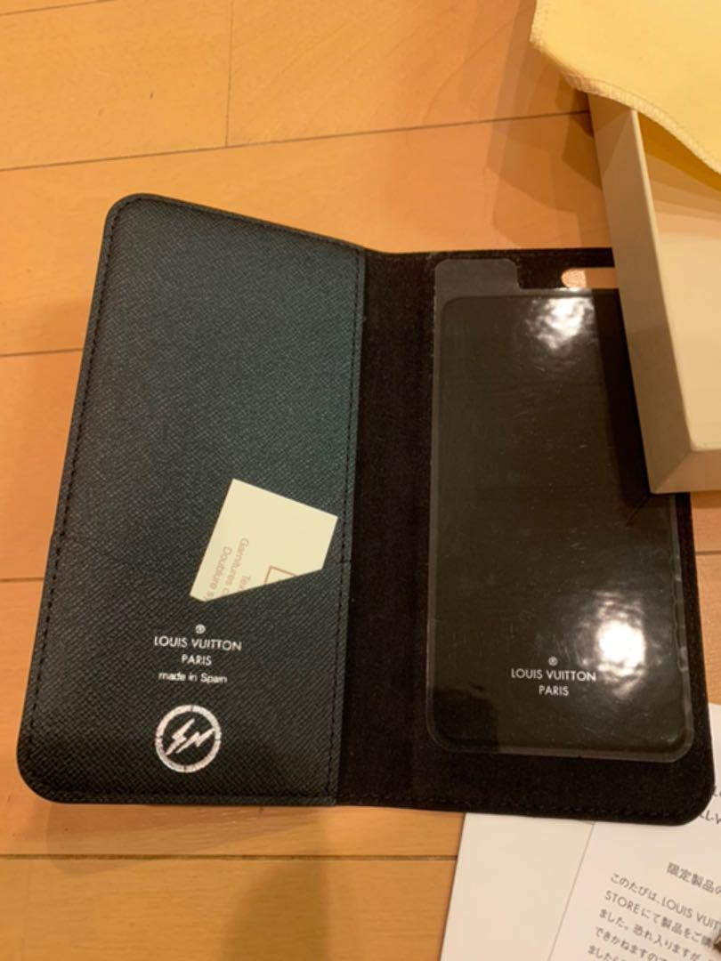 the latest 2d0f7 c4ef0 LOUIS VUITTON × FRAGMENT Iphone case 新品(¥ 62,800) - メルカリ スマホでかんたん フリマアプリ