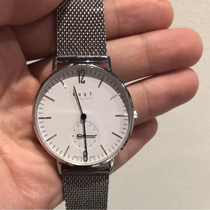 detailing ca643 ae8a7 【ゆら様専用】Knot ノット 腕時計(¥15,000) - メルカリ スマホでかんたん フリマアプリ