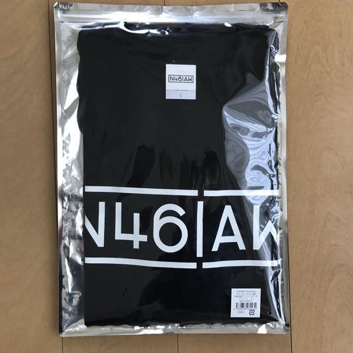 乃木坂46 だいたいぜんぶ展 ロゴTシャツ 黒 Lサイズ