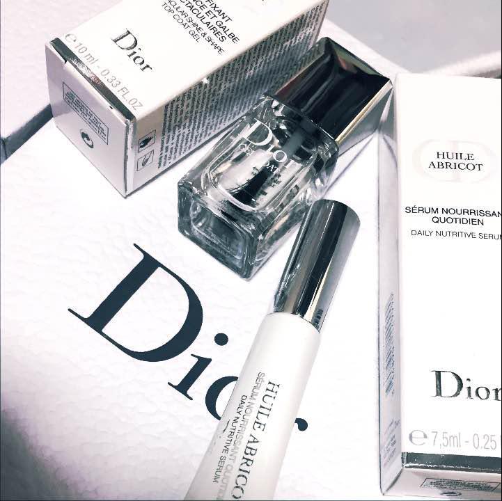 online retailer ef130 93cd6 Dior ジェルトップコート と ネイルエッセンスオイル セット(¥ 3,000) - メルカリ スマホでかんたん フリマアプリ