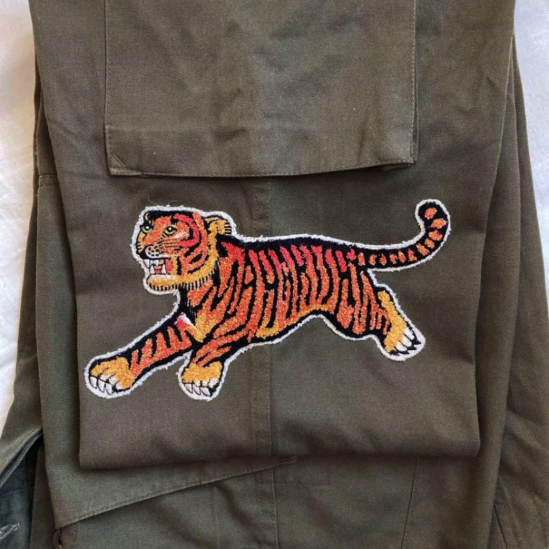 限定値下 Maharishi/マハリシ 刺繍軍パン カーゴパンツ 超貴重・激レア