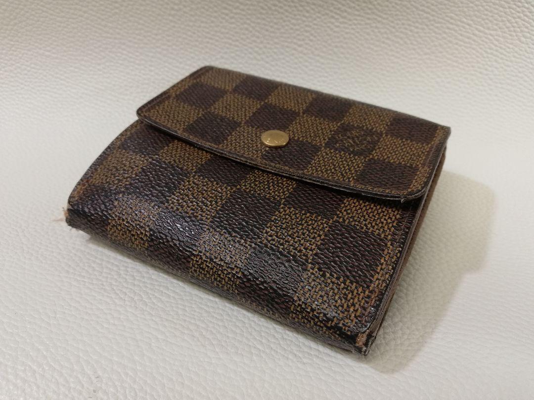 brand new d0d6c 51dc4 Louis Vuitton ルイヴィトン ダミエ 財布 N61652(¥1,500) - メルカリ スマホでかんたん フリマアプリ