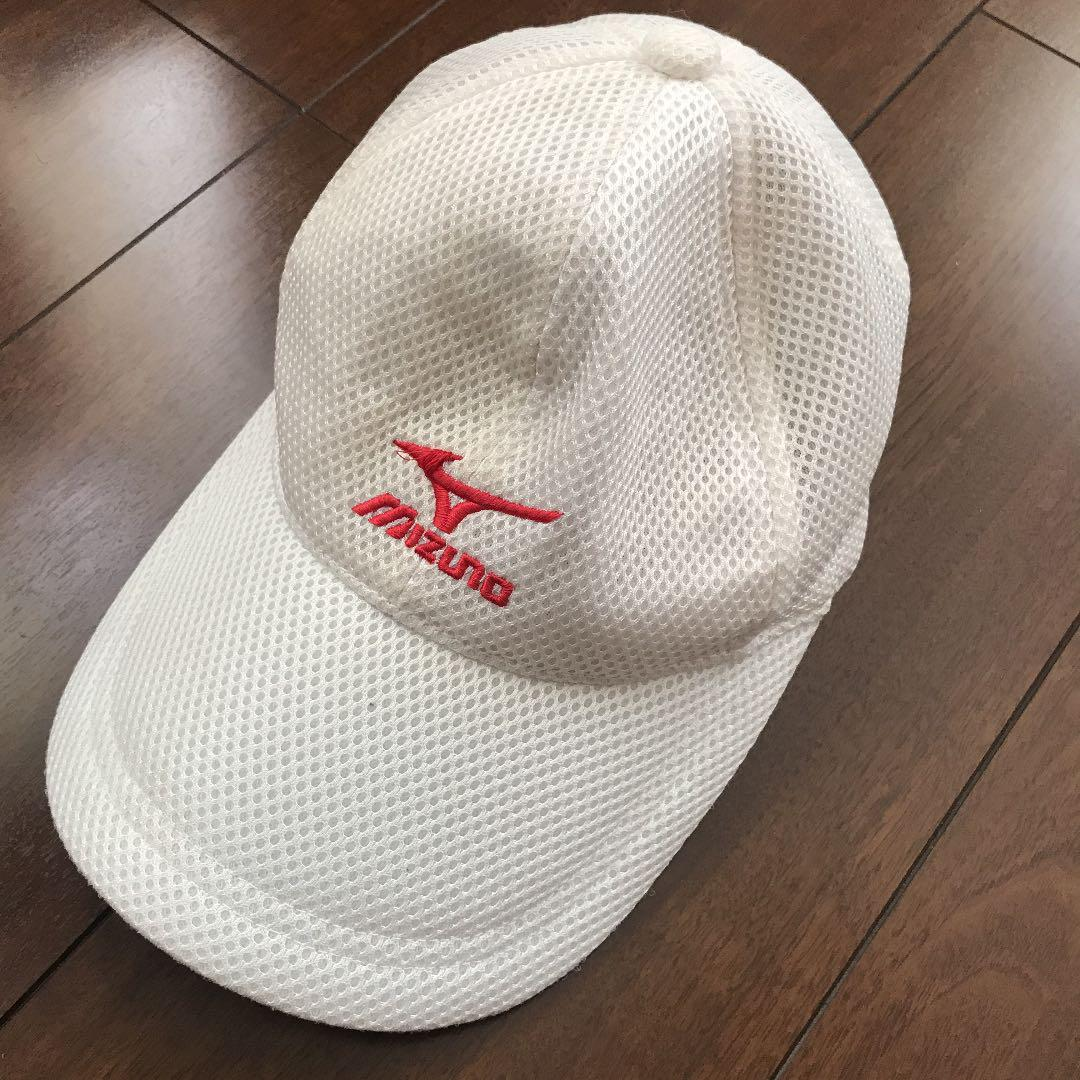 9964ddfd2130a メルカリ - ミズノ キャップ 帽子 マーク赤 【ミズノ】 (¥900) 中古や未 ...
