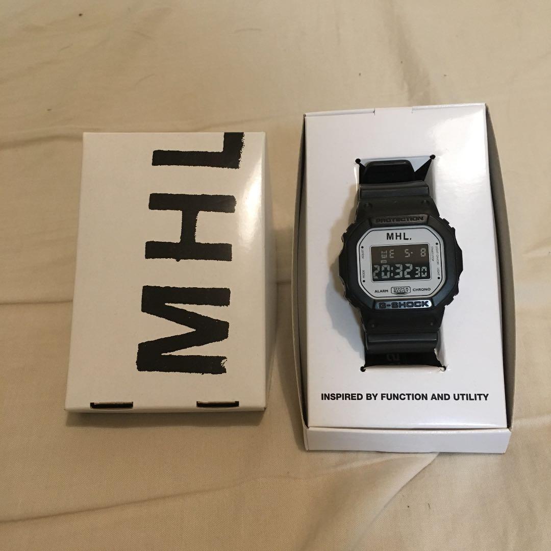 premium selection 30c9a f79dd MHL G-SHOCK コラボ 時計