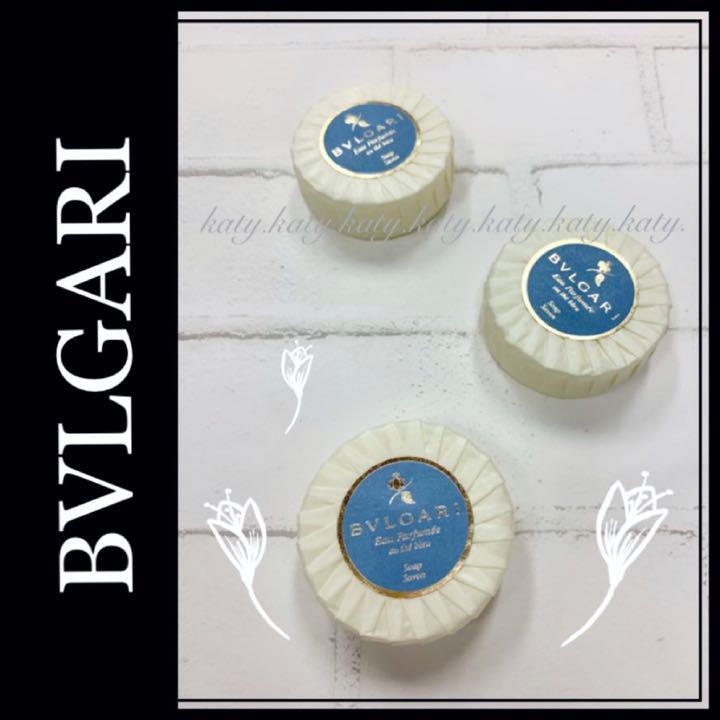 sale retailer c9186 9c3c9 【BVLGARI】ブルガリ オ・バフメ オーテブルー ソープ石鹸 新品3個set(¥1,500) - メルカリ スマホでかんたん フリマアプリ