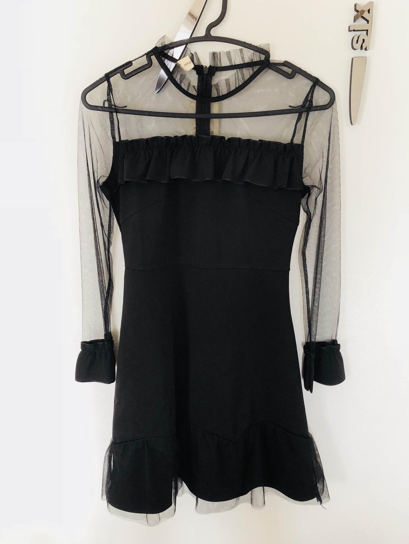 304128ecd1773 メルカリ - シースルー 韓国ドレス  ひざ丈ワンピース  (¥1