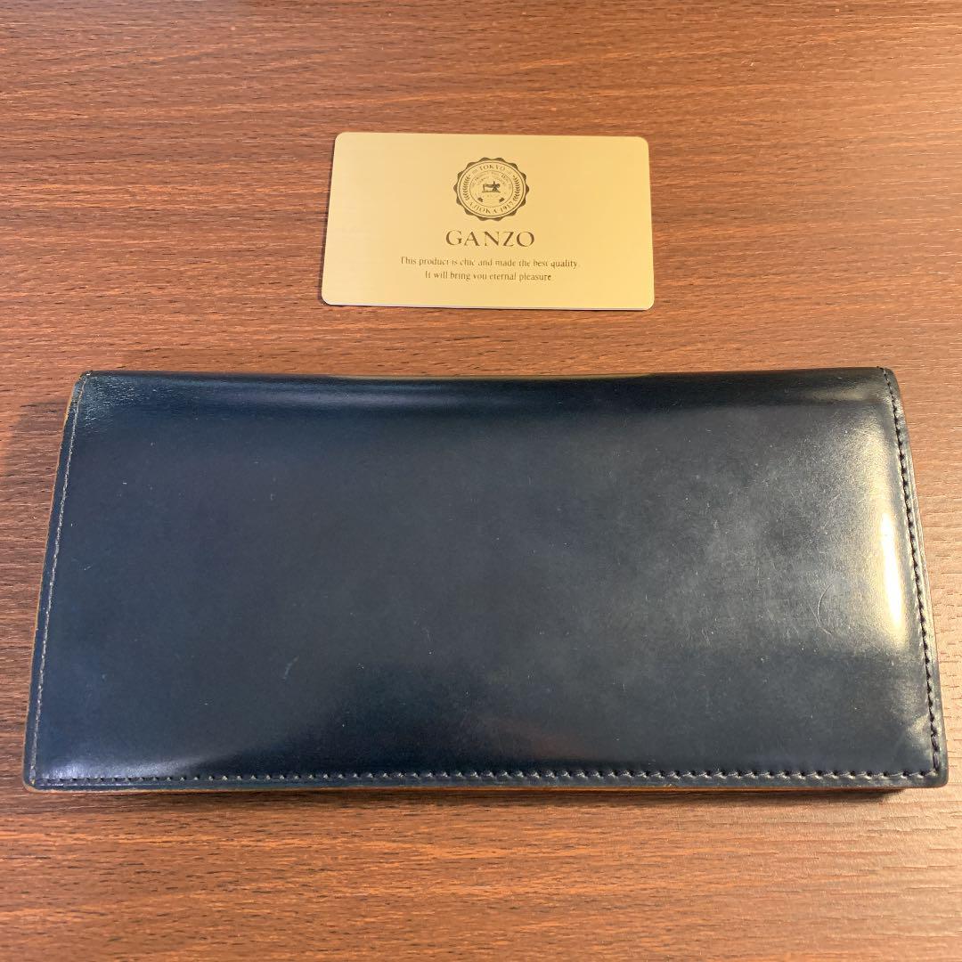 online store bd33f 681cf 【送料込み】GANZO ガンゾ コードバン ファスナー小銭入れ付き長財布(¥19,000) - メルカリ スマホでかんたん フリマアプリ
