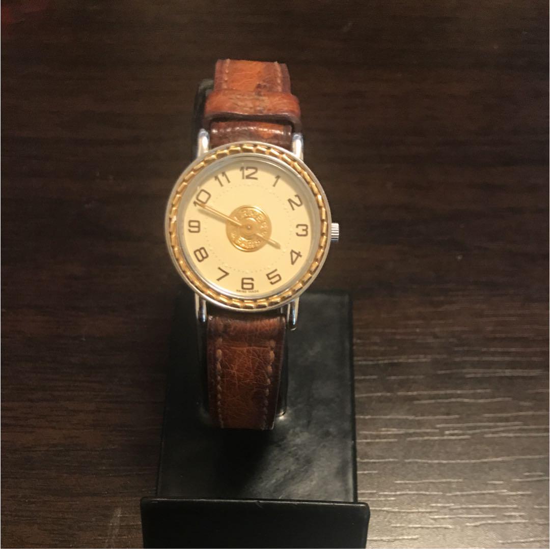 info for 7bd12 64ba5 エルメス セリエ 腕時計 レディース(¥23,000) - メルカリ スマホでかんたん フリマアプリ