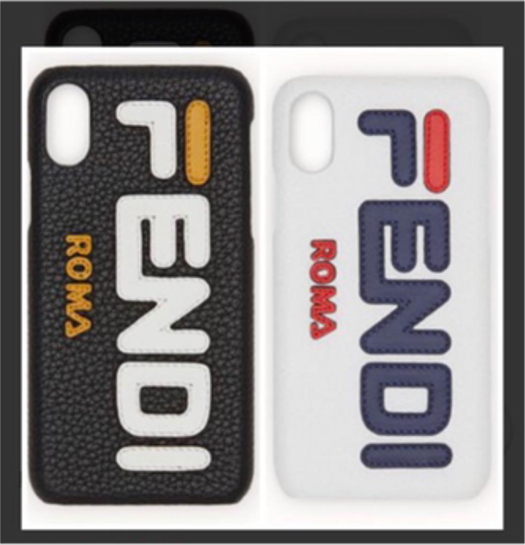 brand new 52bae 513a3 fendi roma fendi mania iphone x ケース(¥14,000) - メルカリ スマホでかんたん フリマアプリ