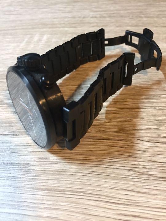 ISSEY-MIYAKE-W-Satoshi-Wada-Wristwatch-SILAY-001-Black-Men-039-s-Good-Condition-D4 thumbnail 4