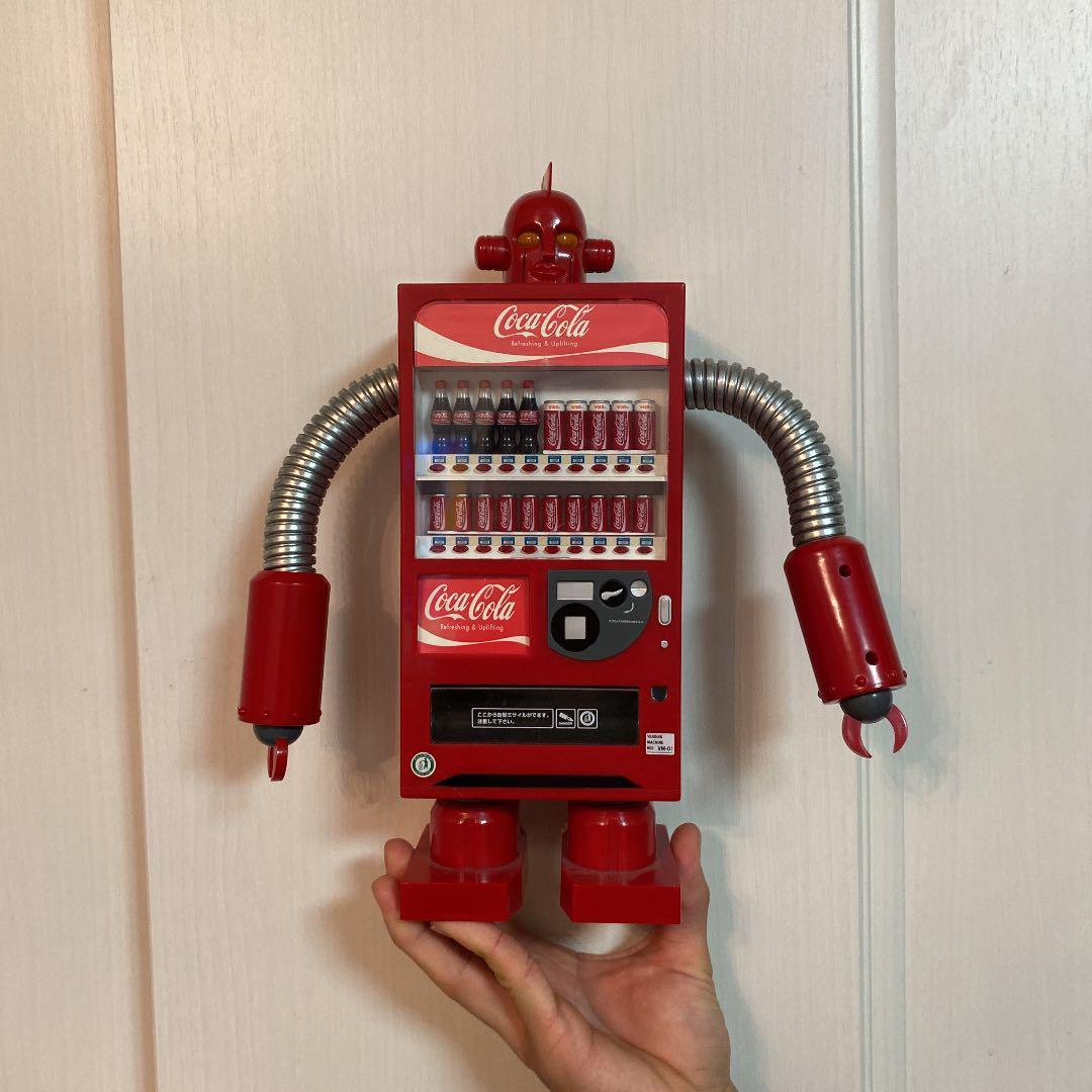 自動販売機型ロボット ペンディングマシンレッド