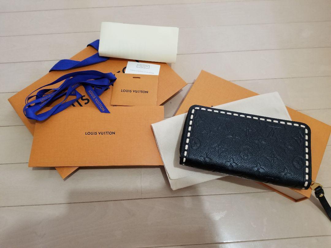 newest 6c5fb 069e5 正規品 ルイヴィトン アンプラント ステッチ 長財布 ウォレット モノグラム(¥135,000) - メルカリ スマホでかんたん フリマアプリ
