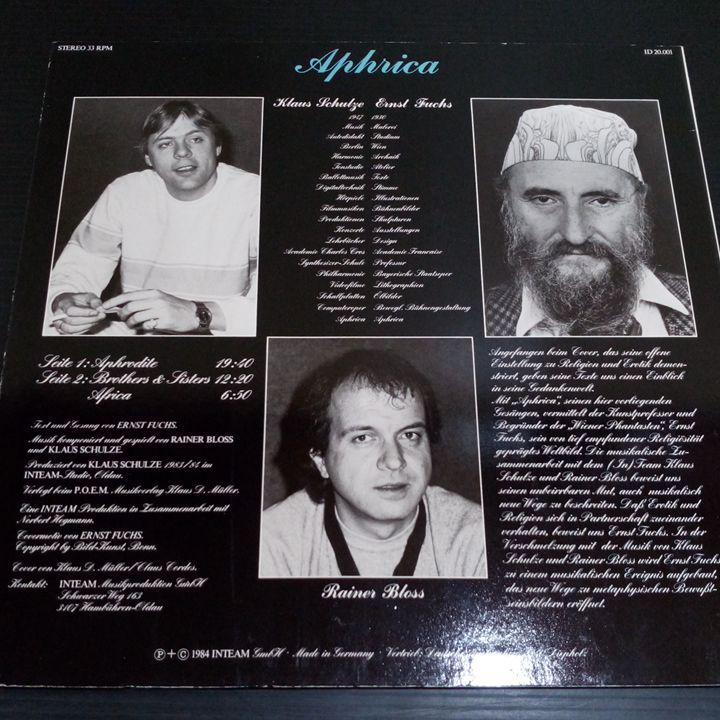 メルカリ - クラウスシュルツ貴重LP APHRICA Klaus Schulze プログレ ...