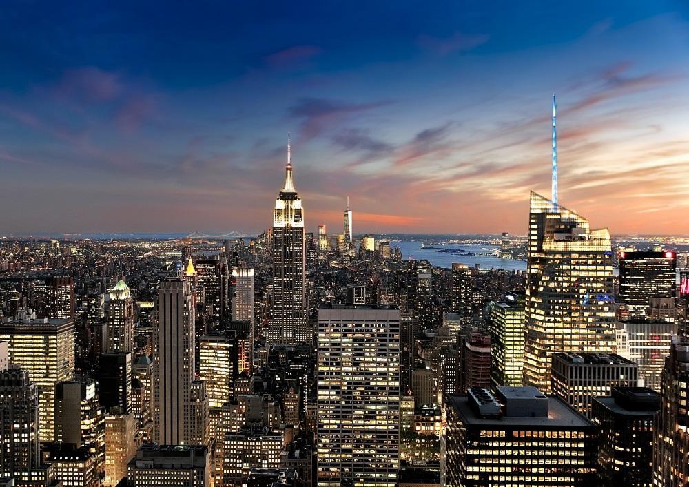 メルカリ ニューヨーク マンハッタン 夜景 壁紙ポスター 002a1 インテリア小物 4 900 中古や未使用のフリマ