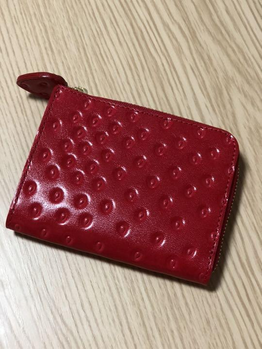 197f23839745 メルカリ - アールスフェボリット いちご 財布 【折り財布】 (¥6,200 ...