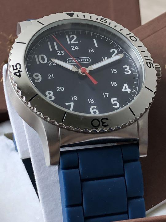 quality design 3fb13 73964 コーチ COACH 腕時計 メンズ(¥4,500) - メルカリ スマホでかんたん フリマアプリ