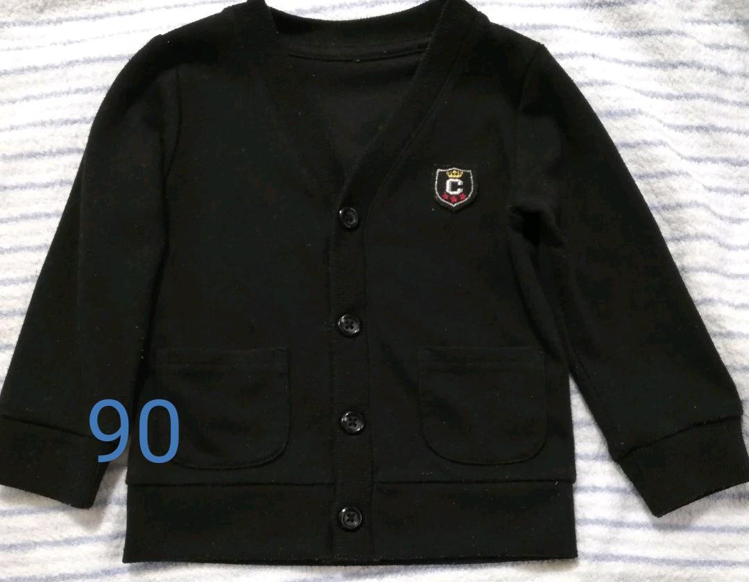 8ae84134bd32b メルカリ - カーディガン 西松屋 黒 男の子 90  トップス  (¥500) 中古 ...